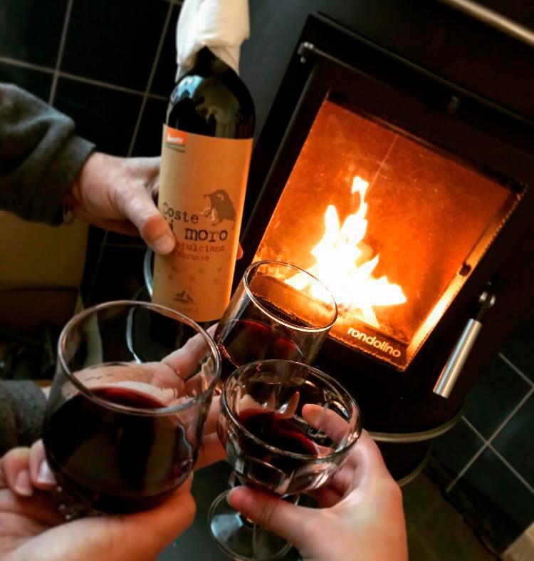 Wein am Speicherofen