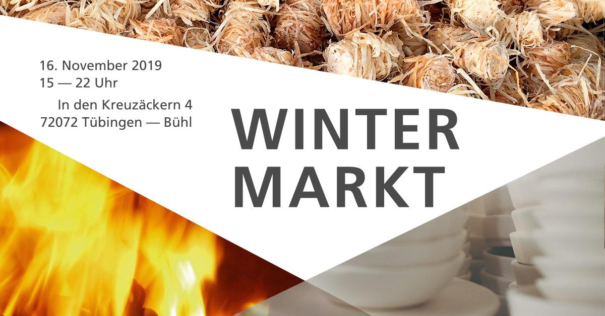 Wintermarkt in Tübingen-Bühl