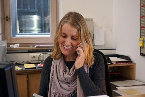 Helga Grüner · Sekretärin