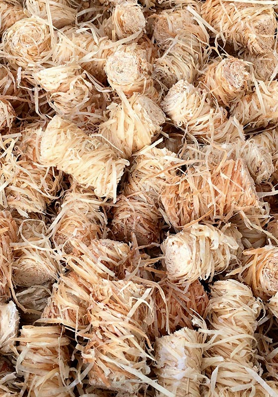 Ofenanzünder Holzwolle Wachs